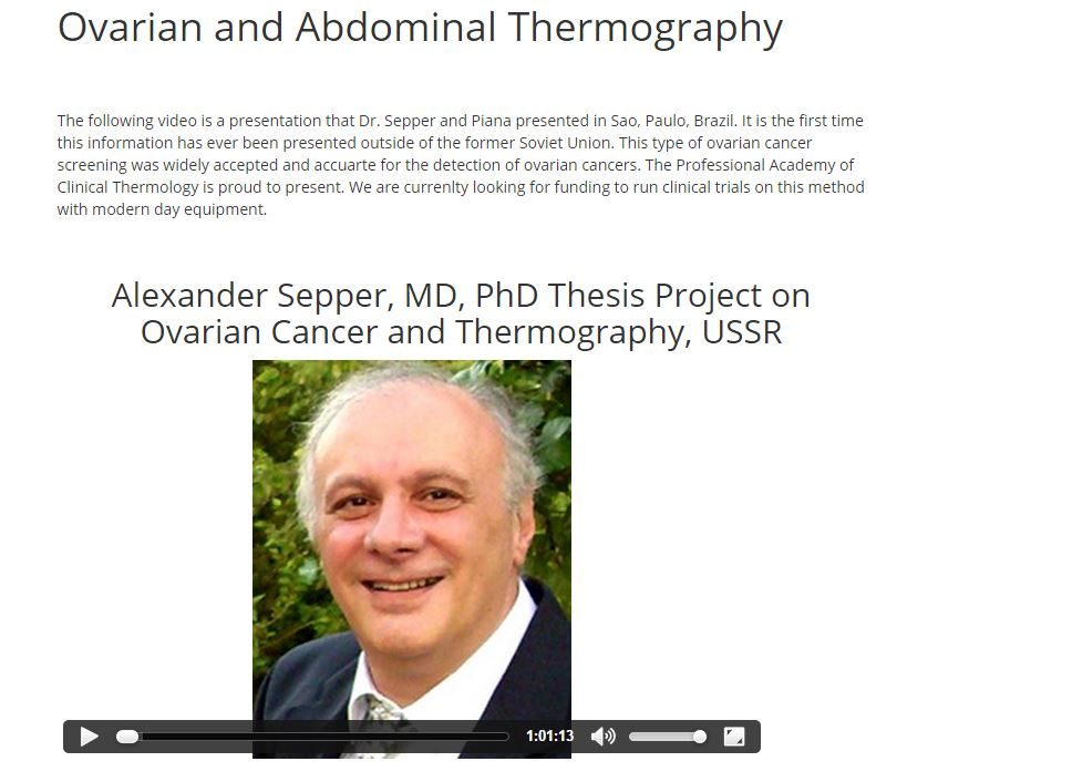 Ovarian Thermography